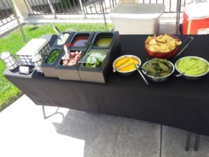 Taco Bar Catering Services by The Taco Specialist   Elegante