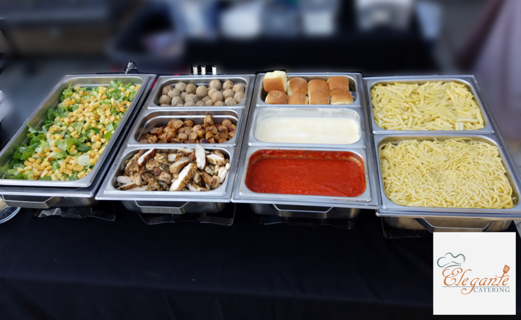 pasta buffet catering services your guests will love elegante catering rh elegantecatering com